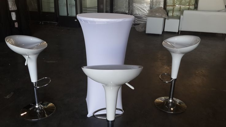 Cocktail Table and Chairs for Hire