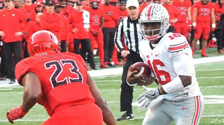 Ohio State quarterback J.T. Barrett was believed to be closing in on a Big Ten record. But even after four TDs vs. Maryland, he will have to wait for this next record.
