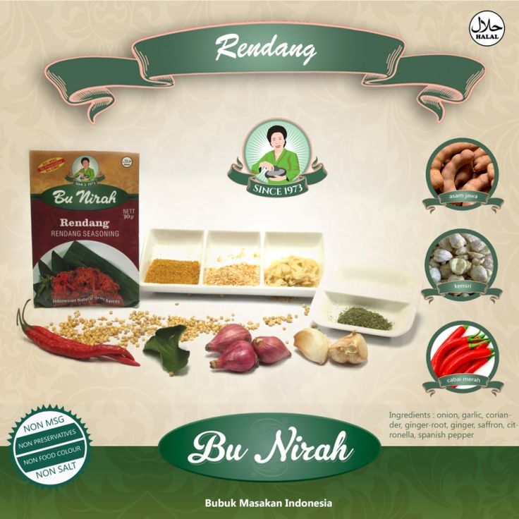 Rendang banner Poster, photo & edited by satyadfarma