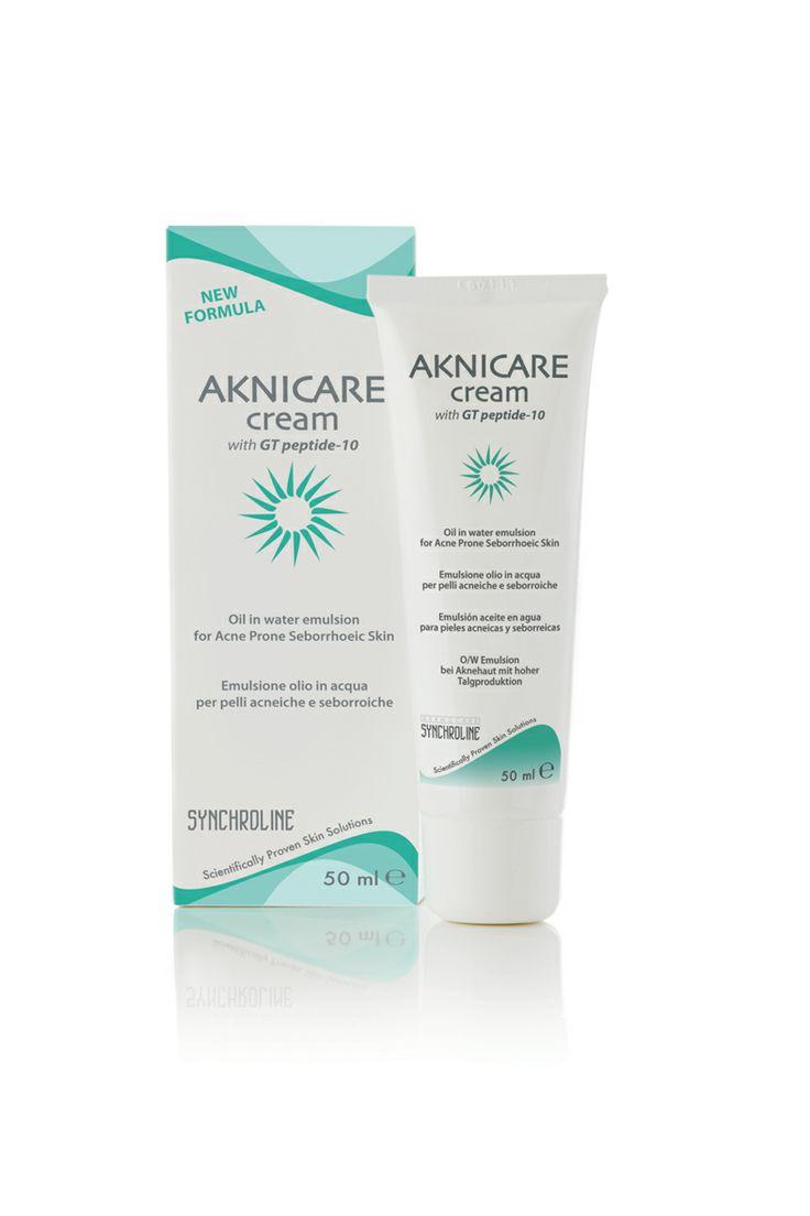 AKNICARE CREAM- Akne tedavisinin idamesinde ve akneye meyillli yağlı ciltlerin bakımında kullanılan bir üründür.