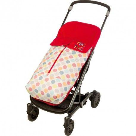 Saco de primavera universal para silla de paseo de la colección African Routes de Tuc Tuc. Perfecto para el clima primaveral.