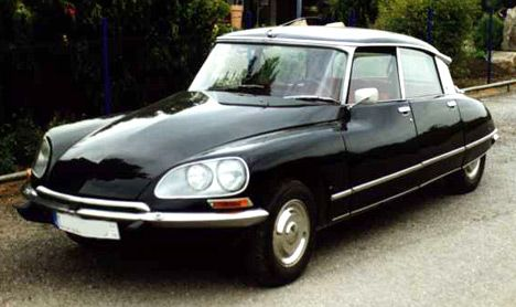 Citroen DS.  who knew there were so many cool looking cars