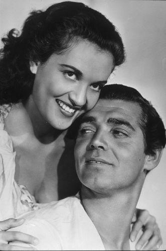 Clark Gable and Maria Movita Castaneda