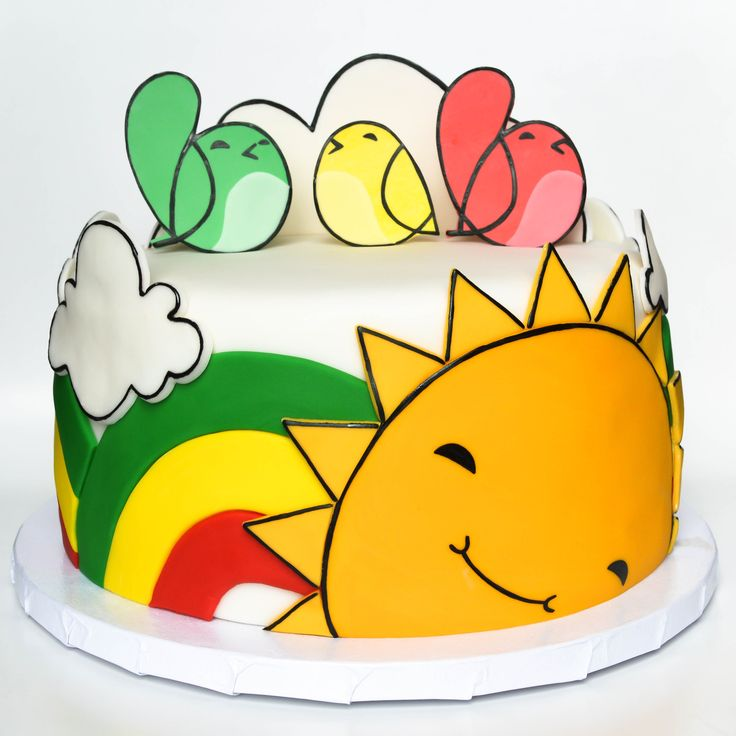 bob marley three little birds themed cake