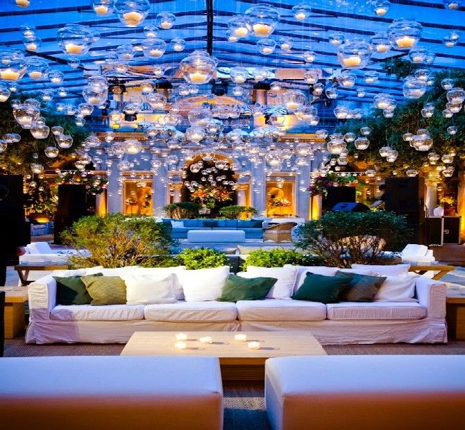 Best outdoor lighting ideas for a cocktail party | Lighting inspiration in design