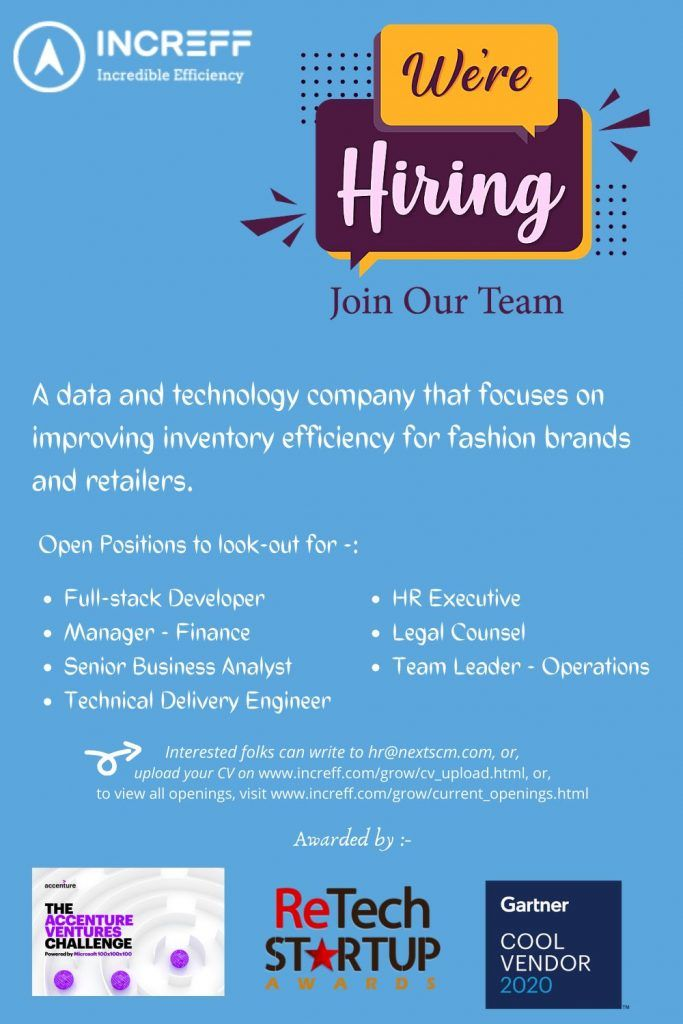 Multiple Job Openings Bangalore