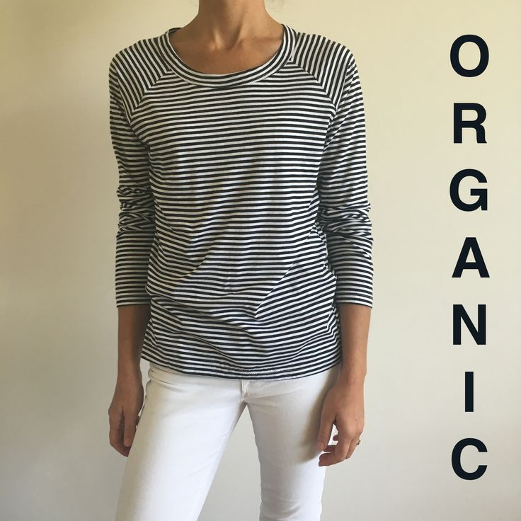 You may have noticed, we have a thing for Stripes and this number is one of absolute FAVES. Made with 100% Organic Cotton it feels just as good on as it looks✖