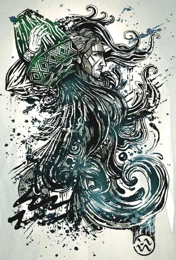 50 besten Wassermann Tattoos Designs und Ideen mit Bedeutungen #bedeutungen #besten #designs #ideen #tattoos