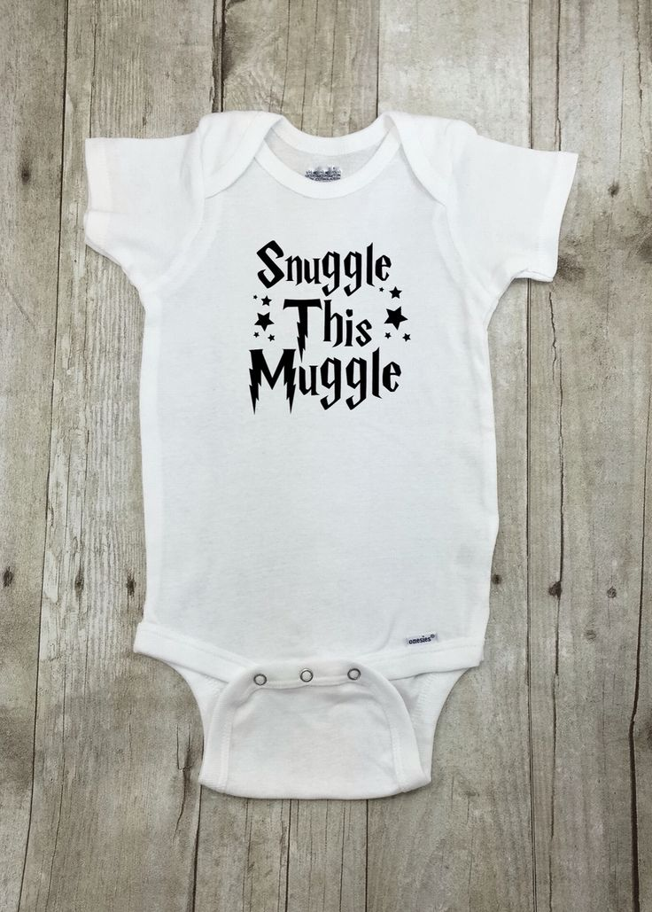 Harry Potter Onesie. Purchase at:  https://www.etsy.com/ca/listing/275100734/harry-potter-funny-baby-onesie-onsie