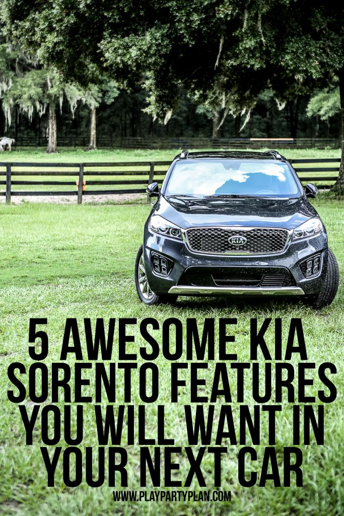 Looking for the best cars to buy in 2016? The Kia Sorento is perfect for women, for moms, or for families who spend a lot of time in their cars. Check out these five awesome accessories that make the Kia Sorento one of the best cars around. Great info about everything from the interior to the seat options and more! And I love that black leather! #DriveKia #ad