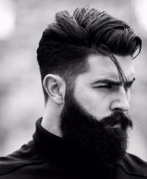 male hairstyles beard | 45 Modern Mens Fade Haircuts ...
