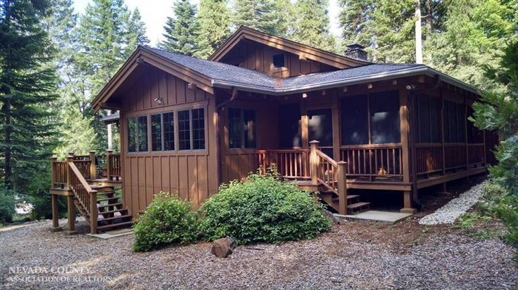 Our dream-home in Nevada City.