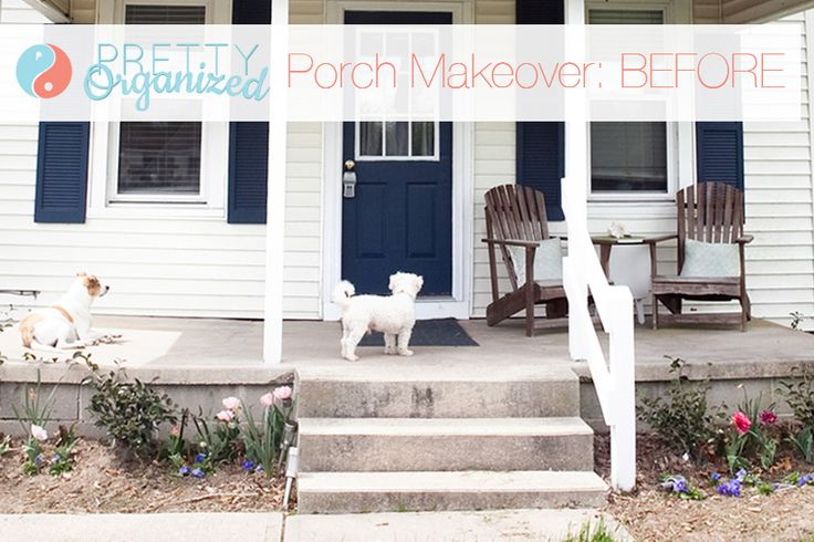 all decked out a porch tastic diy makeover part one outdoor living pinterest porches. Black Bedroom Furniture Sets. Home Design Ideas