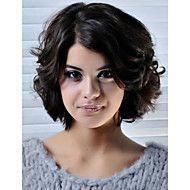 12/08+polegadas+frente+perucas+lado+curto+peruca+de+cabelo+humano+remy+parte+estilo+popular+de+renda+alta+peruca+elogios+para+as+mulheres+–+EUR+€+86.44