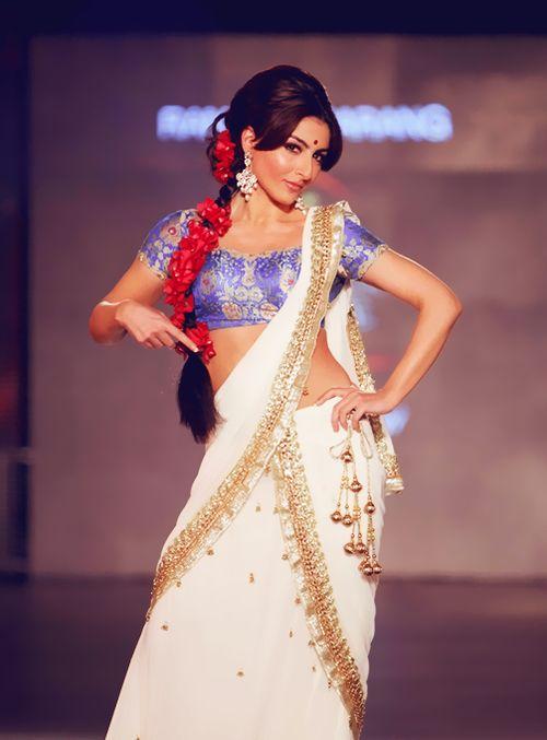 Soha Ali Khan #Saree