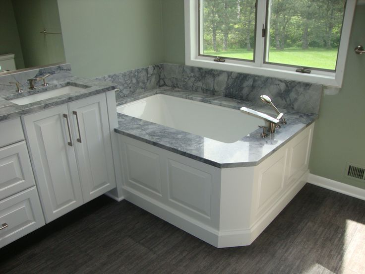 nice recommended bathroom vanity height with marble on top for vanity and bathtub recessed