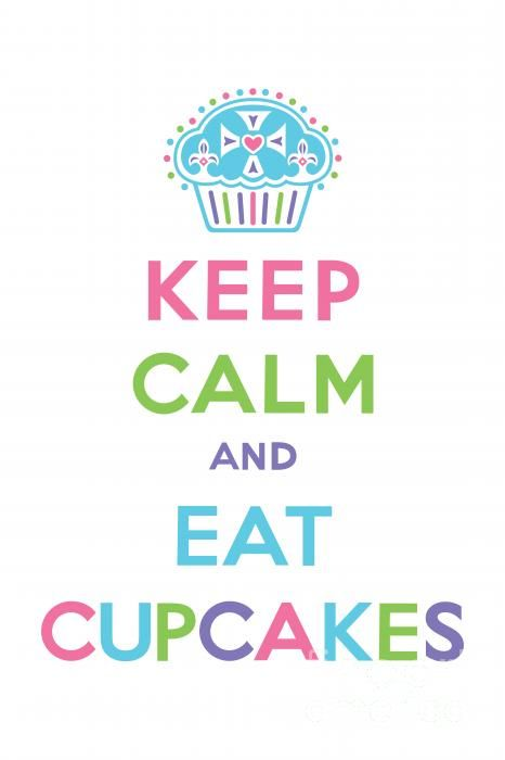 This just says it all for me.: Cupcakes Faith, Quote, Donut Cupcakes, Cupcakes Quequitos, Keep Calm And Eating Cupcakes