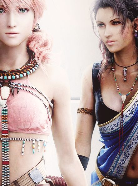 The Oerba Saviors: Vanille & Fang. Final Fantasy XIII