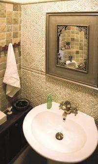 Burkolat a fürdőszobában. Rusztikus kövek, kőcsempék az Ottitól. Mediterrán, Provence, Vintage, Loft, Shabby enteriőrök elengedhetetlen burkolata az Otti kő! Konyhaépítés, fürdőszoba burkolás, és gyakorlatilag a belsőépítészet minden területe használja ezeket az egyedi köveket.