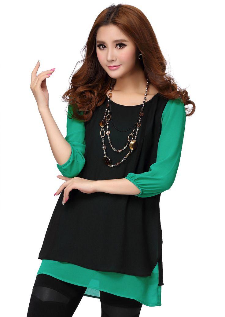 Plus size asian fashion