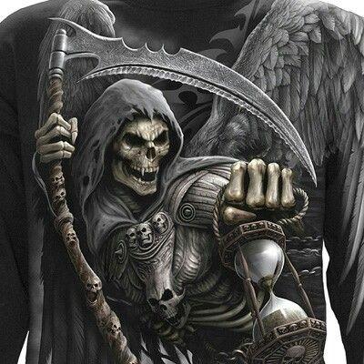 Les 25 meilleures id es de la cat gorie tatouage repr sentant la mort sur pinterest doodle den - Tatouage la faucheuse ...