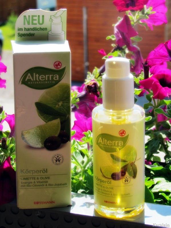 Karalajn: Alterra olejek do ciała Limonka i Oliwki