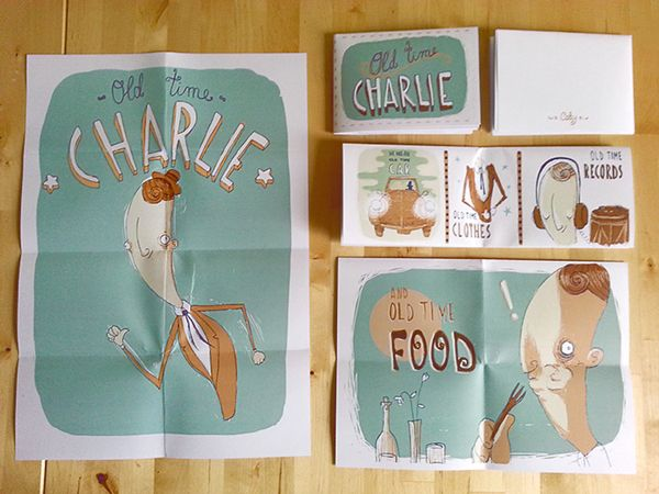 Old Time Charlie by CABY on Behance