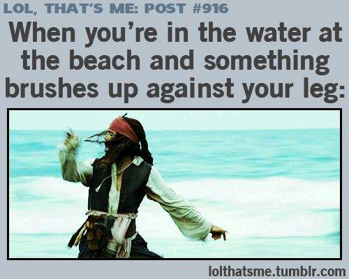 THIS COUDL NOT BE MORE ACCURATE! THE FIRST TIME I FELT SEAWEED I SCREAMED LIEK A LITTLE GIRL!