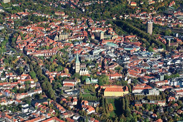 Luftbild-Kalender Osnabrück Fotokalender 2013 Wandkalender Luftaufnahme Luftbildaufnahme