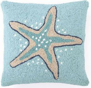 Starfish Pillow ⚓ Beach Cottage Life ⚓