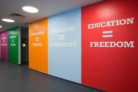 wonderful school hallway...