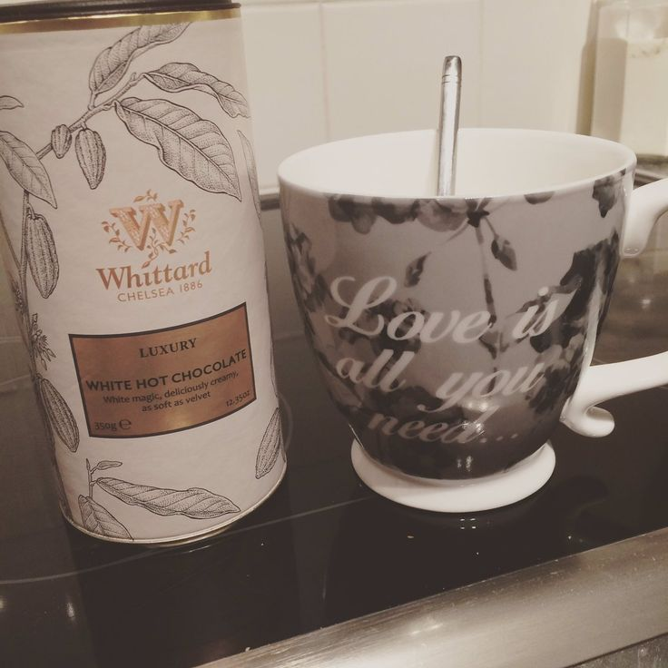 From Twitter user @Emdals, enjoying our Luxury White Hot Chocolate