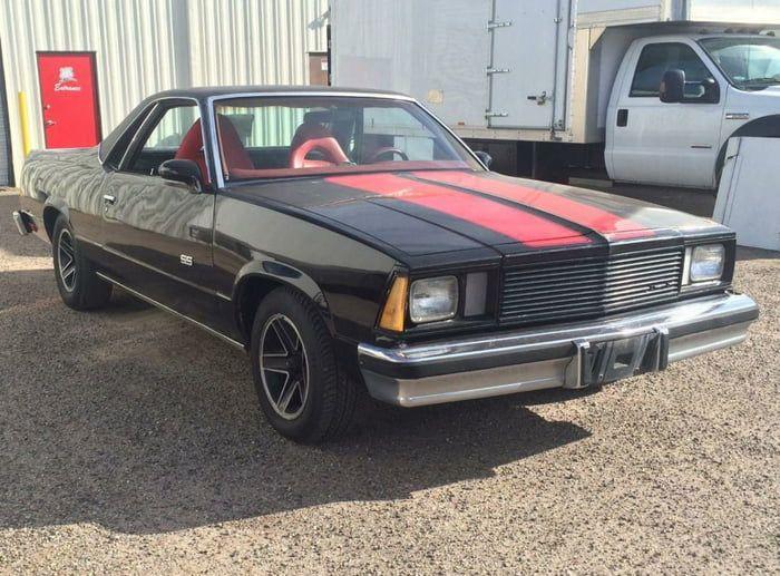 El Camino Used In The Movie Wich Was A Deception Btw Cars Movie Chevrolet El Camino