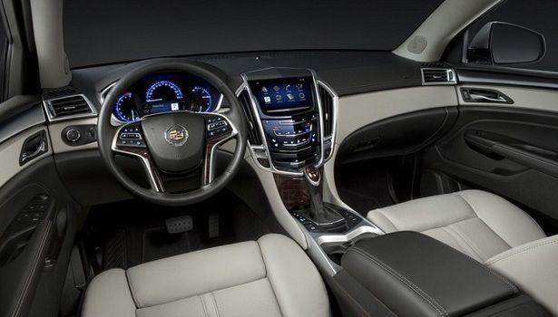 2016 Cadillac SRX - interior