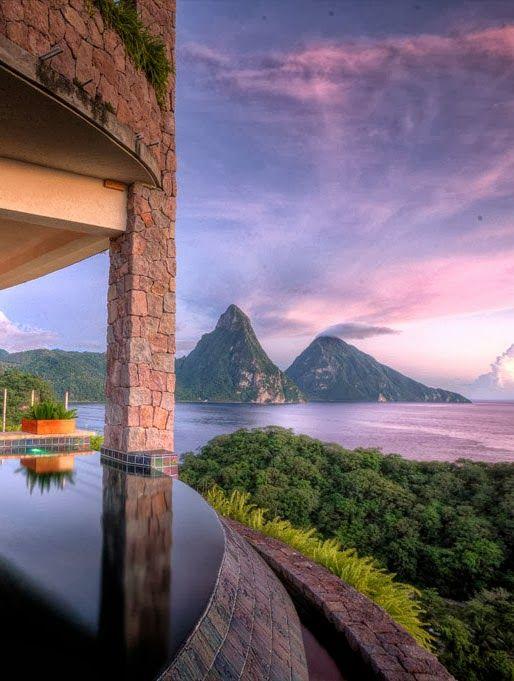 Jade Mountain ,Saint Lucia, Caribbean: my dream vaca destination