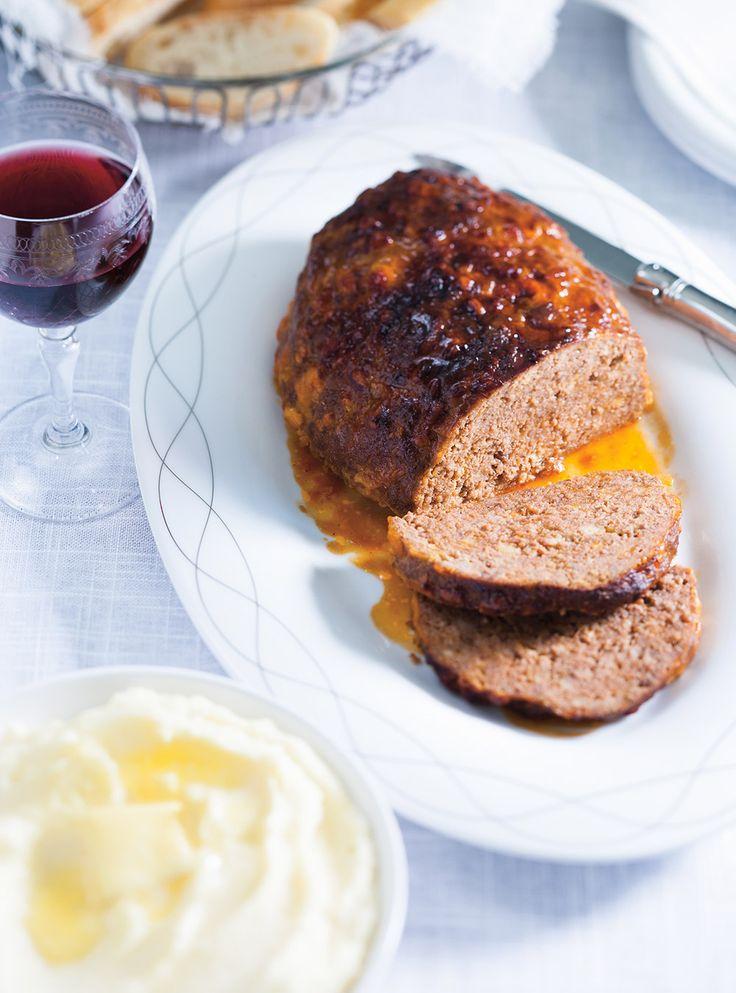 Recettes de Ricardo de pain de viande au fromage cheddar