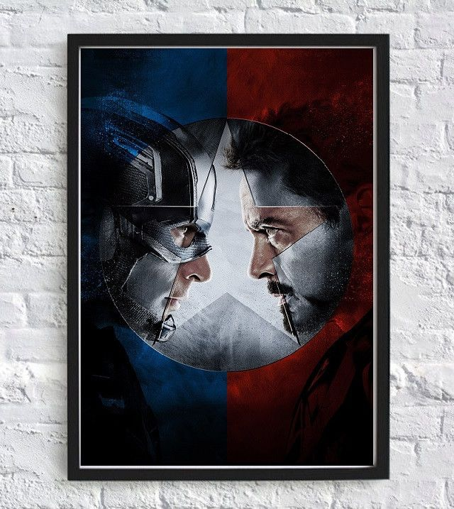 Captain America The First Avenger Civil War Poster - Print The Globe - 1