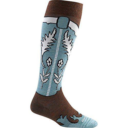 (ダーンタフ) Darn Tough レディース インナー ソックス Annie Oakley Light Knee High Socks 並行輸入品  新品【取り寄せ商品のため、お届けまでに2週間前後かかります。】 カラー:Leather カラー:ブラウン
