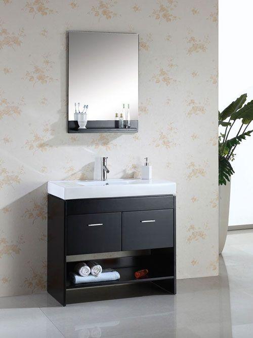 Best 25 Narrow bathroom vanities ideas on Pinterest  Toilet vanity Large bathroom interior