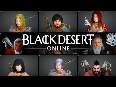 Black Desert Online Character Creator Trailer