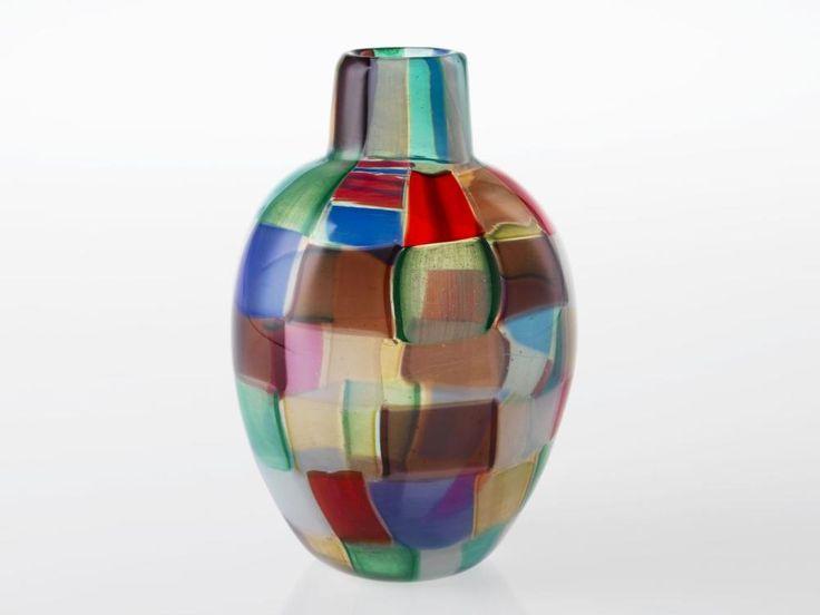 Vaso Multicolore by E. Barovier, 1956. Het Nationaal Glasmuseum, CC BY