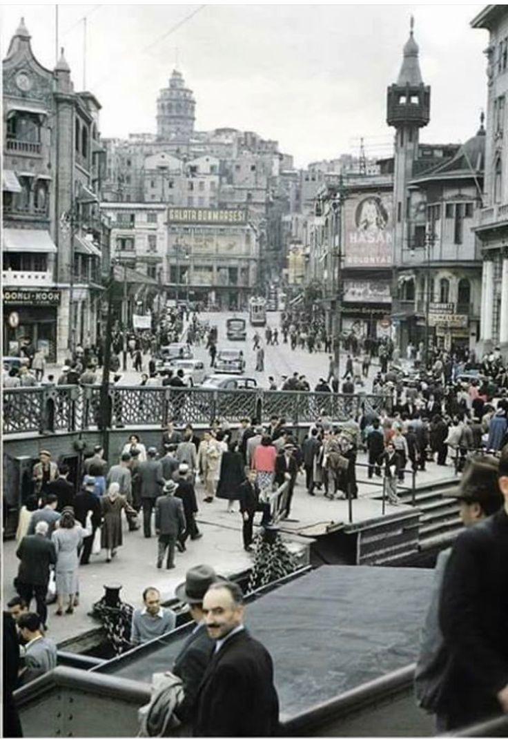 1960-Karaköy-Istanbul
