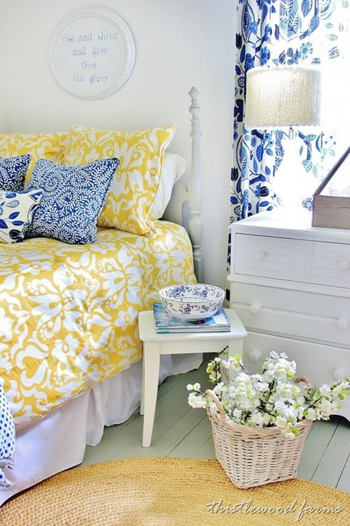 Yellow Guest Bedroom Ideas best 25+ blue and yellow bedroom ideas ideas on pinterest | spare
