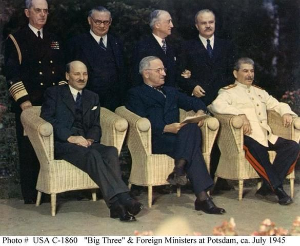 1945 – The Potsdam Declaration is signed in Potsdam, Germany. | The Potsdam Conference