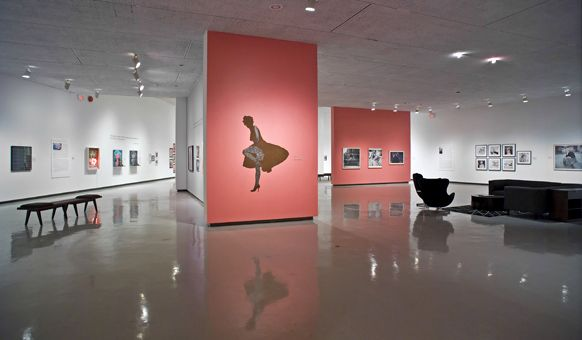 A view of the Winnipeg Art Gallery's installation Marilyn: Life as Legend.