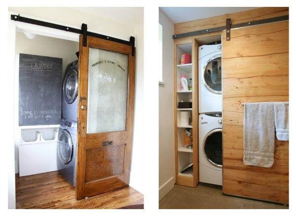 Puertas correderas tipo granero para interiores - Tipos de puertas de interior ...