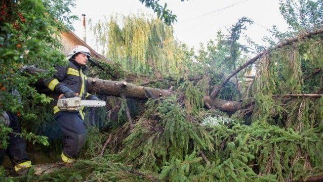 Vihar Bács-Kiskunban: mintegy harminc riasztást kaptak a tűzoltók