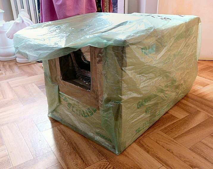 Good faire une niche extrieure douillette pour son chat with fabriquer une box de culture - Fabriquer une chambre de culture ...