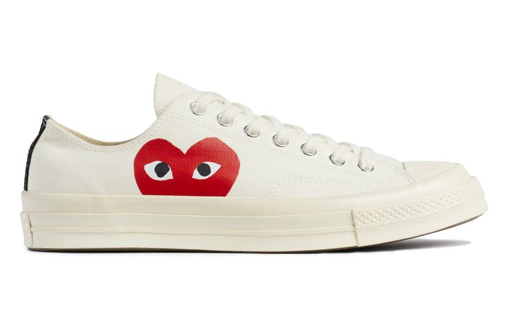 CDG PLAY x Converse Chuck Taylor Low Top Sneaker