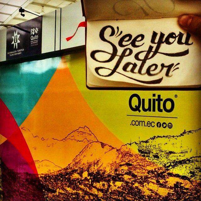 See you later Quito!! Next stop Ecuatorian coast!